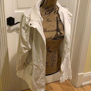 Chico's Zenergy White Jacket Size 3 (16/18 US)